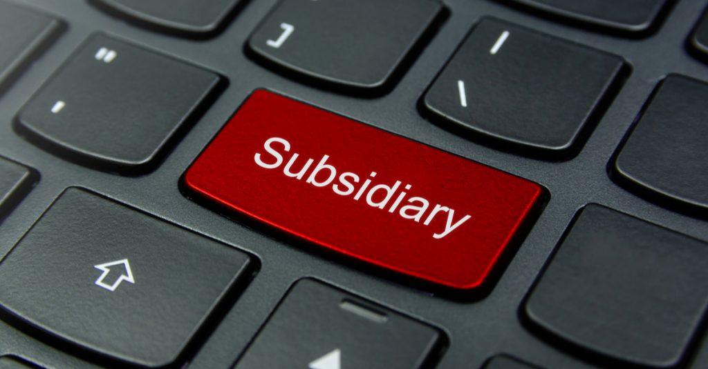 Subsidiary keyboard